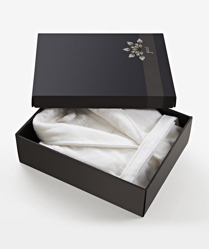 Как упаковать халат в подарок фото 51