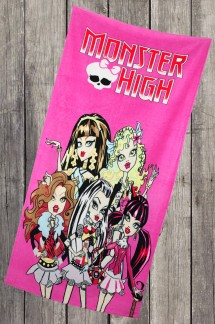 Пляжное полотенце Monster High