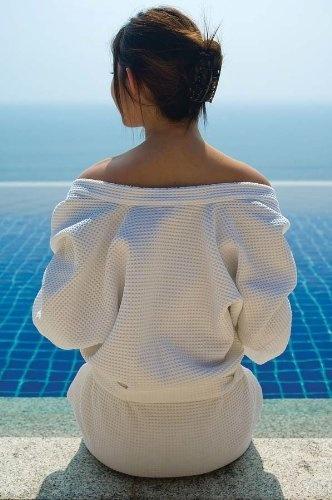 натуральный банный халат