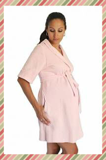 Халаты для беременных. Сорочка и халат для беременных 147a413906767