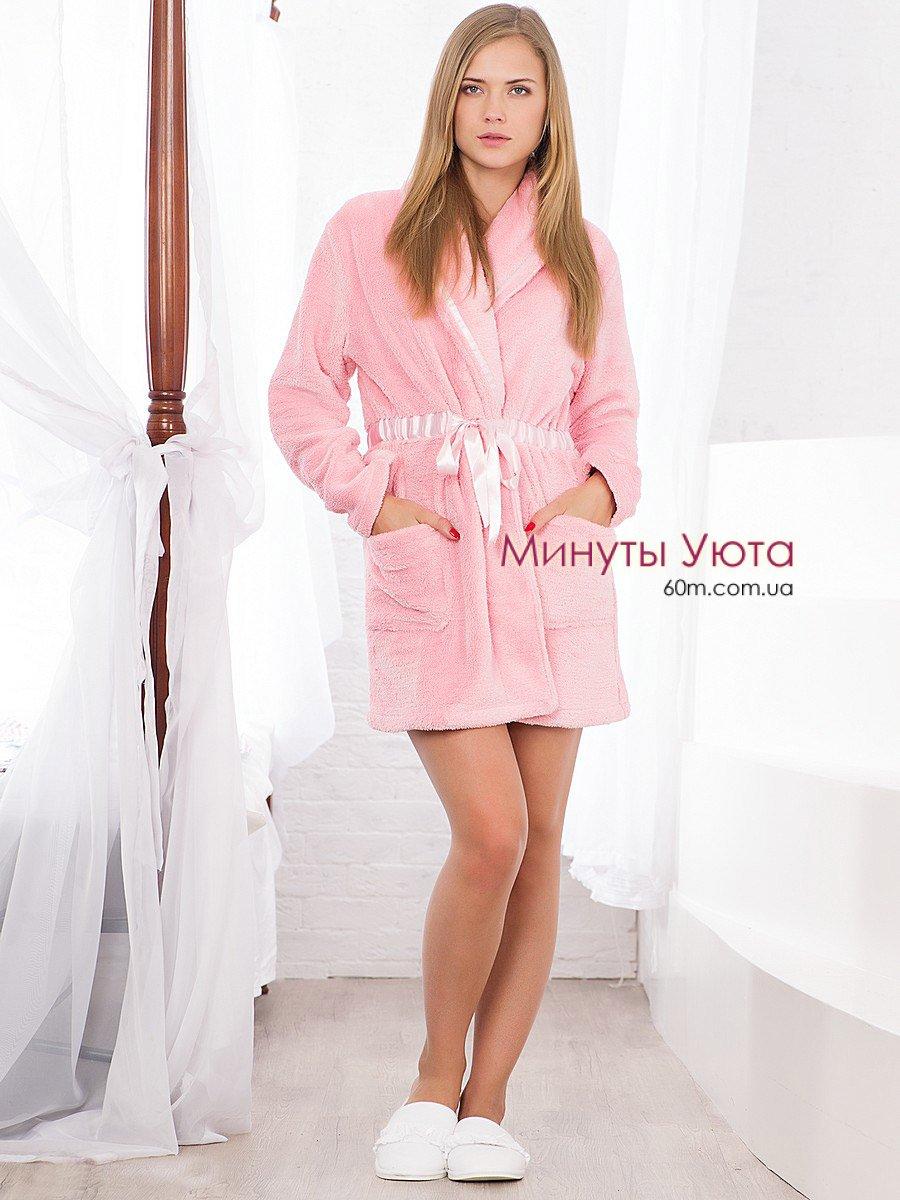 23d41d482487 Розовый халат махровый женский купить в Киеве (Hays, хлопок+ ...