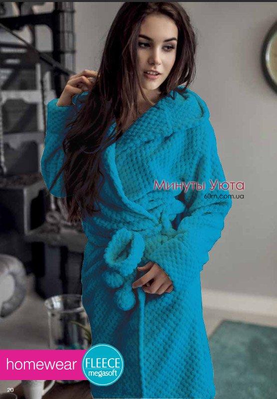 Купити махровий халат жіночий зелений в Києві (мікрофібра d9216364c183e