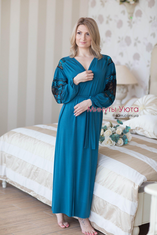 Купити халат жіночий трикотажний (віскоза+еластан e0dae2008b0b4