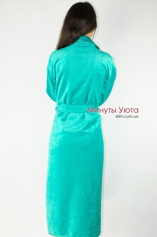 Купити зелений жіночий махровий халат від виробника Virginia Secret ... ab986e455441e