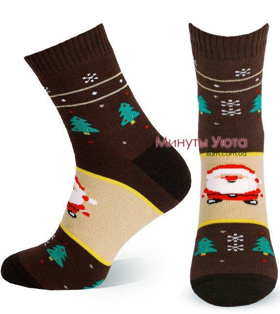 d91c38bf4ba36 Мужские теплые носки с Сантой. Купить в Украине от производителя ...