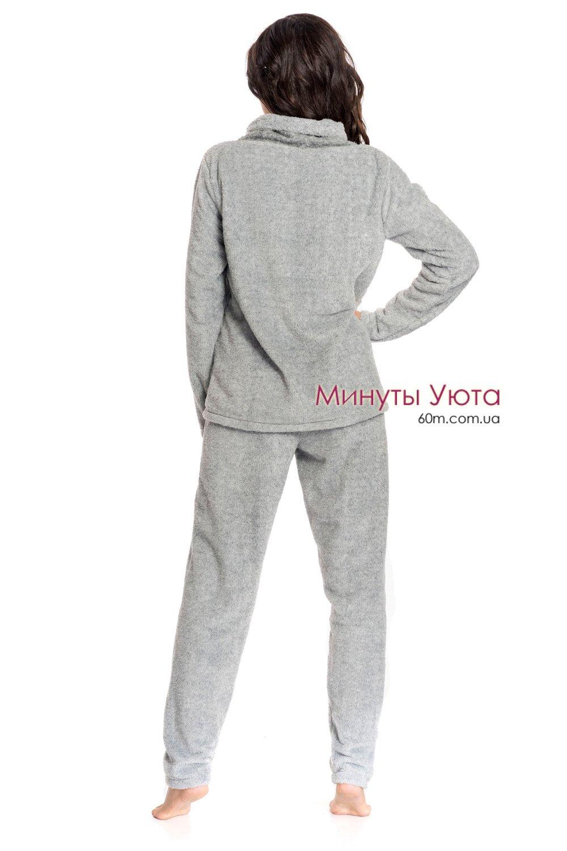 39ae9cea27d7b2 Плюшева Плюшева піжама Love у сірому кольорі, колір сірий. Виробник ...