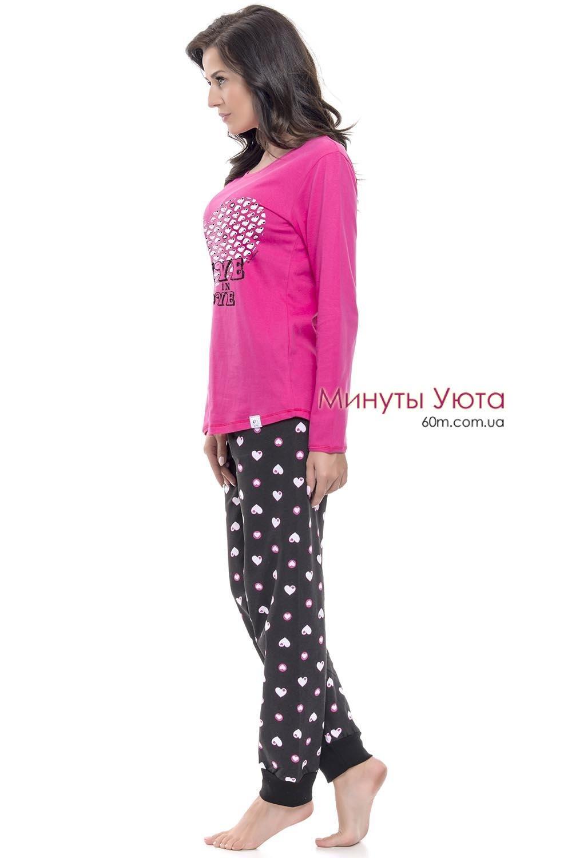 ... Яркая хлопковая пижама в сердечках Dobra Nochka 51a4f6c37d325
