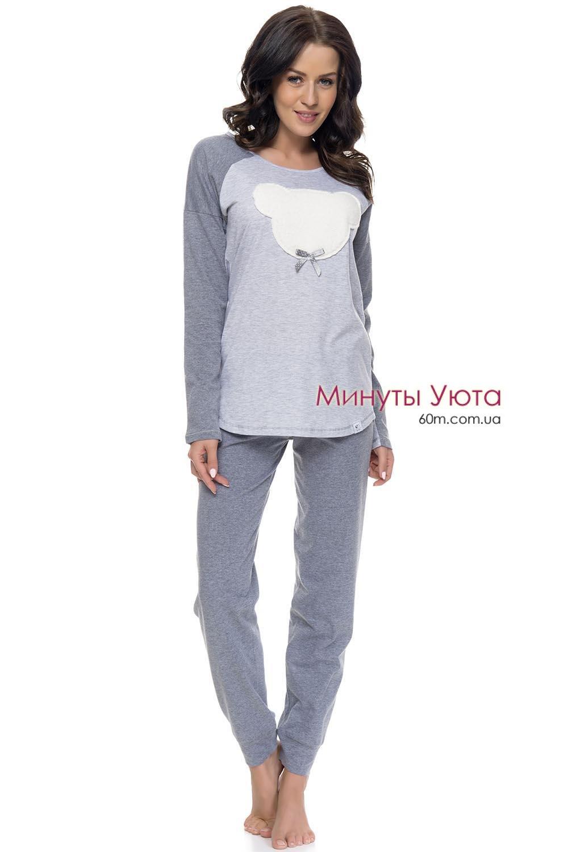 Женская пижама с мягким мишкой Dobra Nochka 3258befa506ea