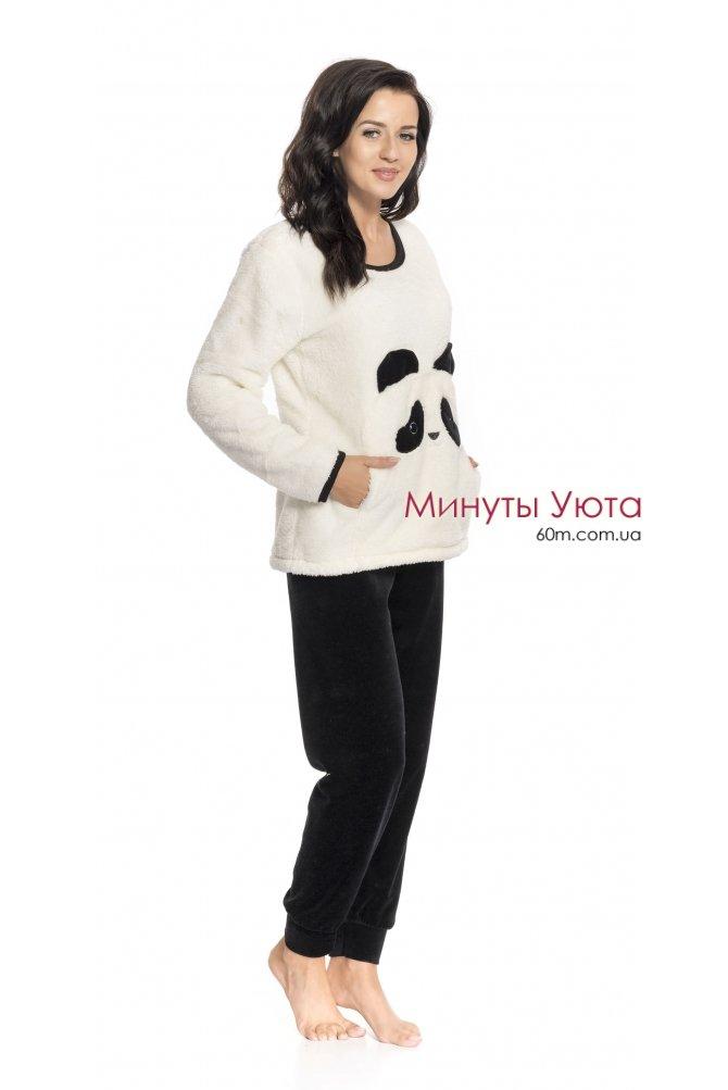 ... Плюшевая пижама с велюровыми штанами Панда Dobra Nochka ... 4eb4c97c84384