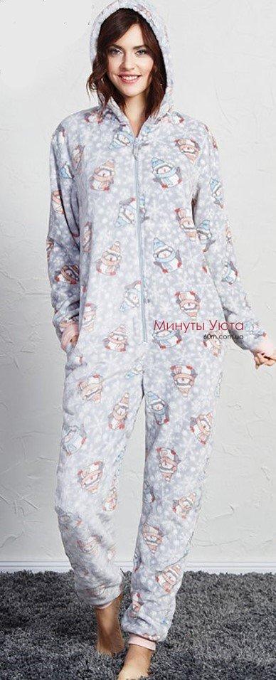 Плюшева піжама кігурумі з пінгвінчиками від виробника Vienetta ... a765644368a75