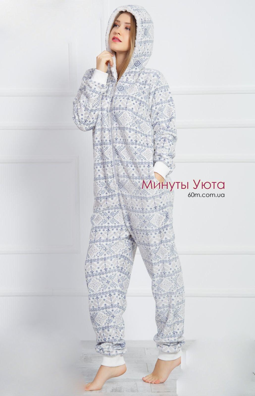 Плюшева піжама кігурумі в скандинавському стилі - доставка в Дніпрі ... 72c82b5168889