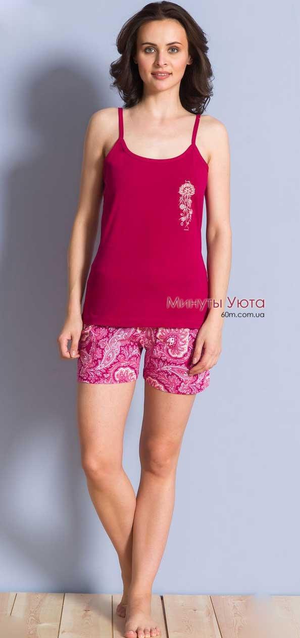 Жіноча Жіноча піжама майка з шортами - доставка в Одесі та по ... 2ec4f10d0e056