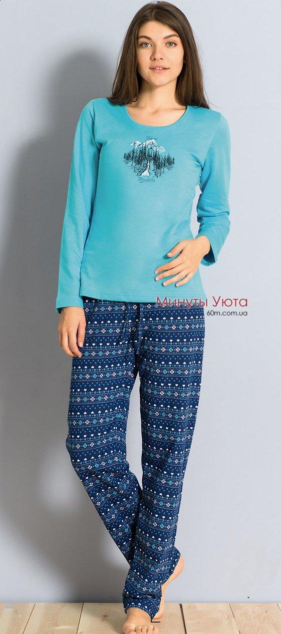 Женская байковая пижама e99adf9ae712d