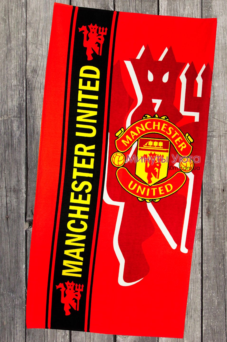 Полотенце пляжное FC Manchester United Turkey